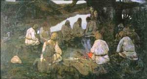 Elders Gathering ~ Nicholas Roerich
