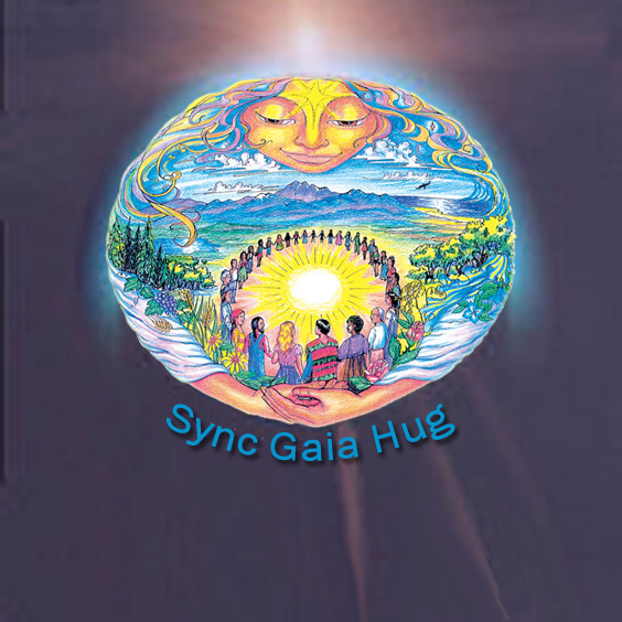 Sync Gaia Hug is an initiative that is helping to synchronize global movements that embrace the planet in love and gratitude to bring about a smile world for all.
