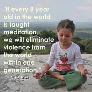 meditate child dalai lama