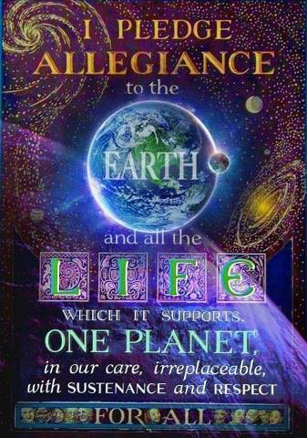 pledge allegiance earth