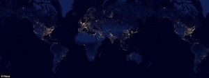 world day night lights