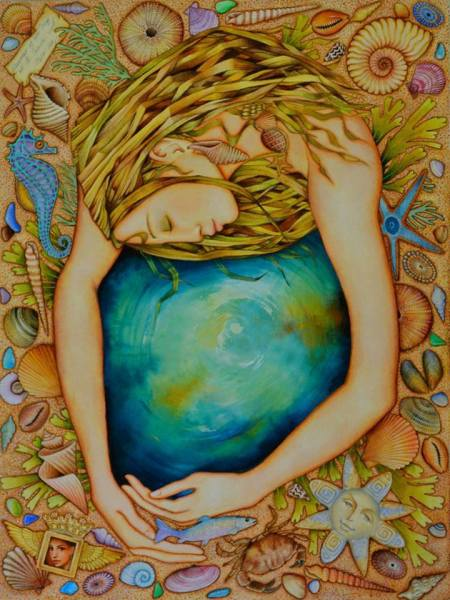 hugging earth