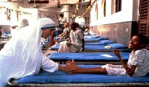 INDIA_-_M_Teresa_e_bambina_handicapped
