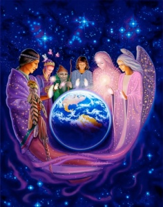 lichtwezen41 gaia angels around earth