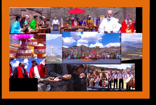 Interfaith ceremony in Cusco
