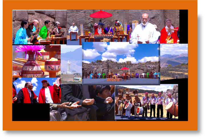Interfaith ceremony in Cusco