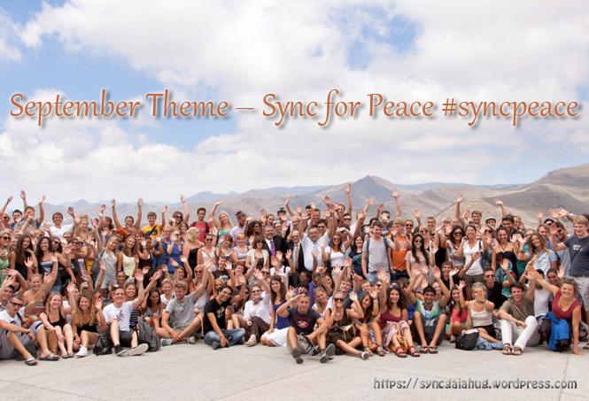 september hugs for peace header