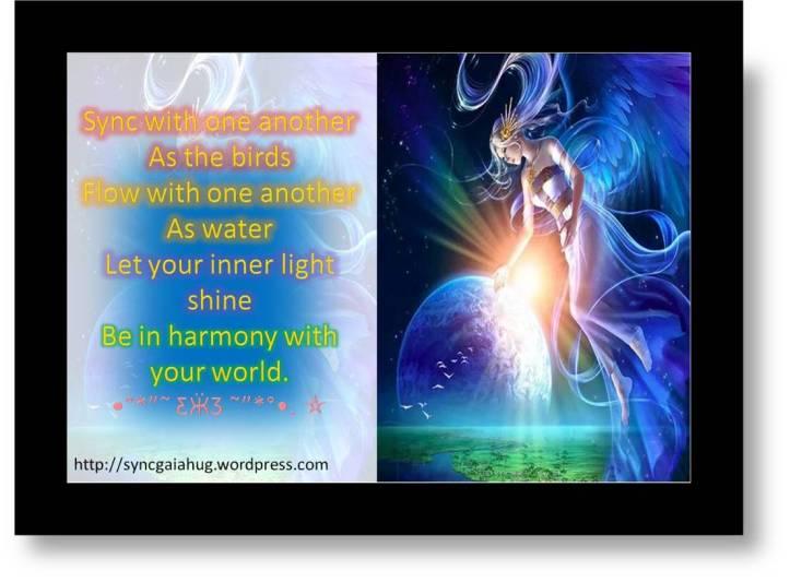 sync flow light harmony world