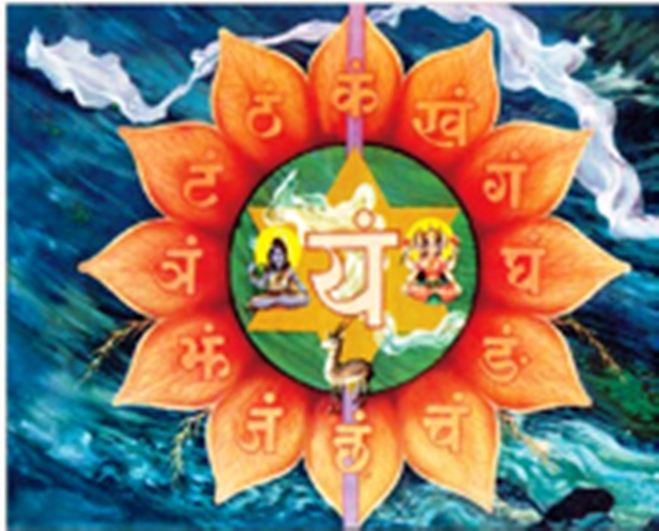Vishuddha Throat Chakra by Harish-Johari.