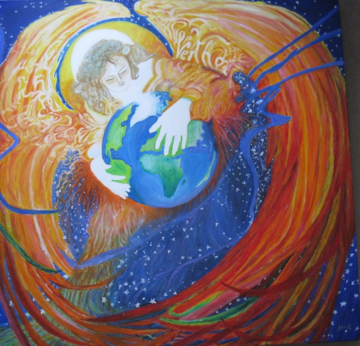 Be With Mother Earth Ana iS