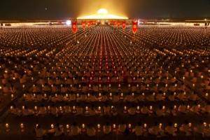 100000 burmese monks